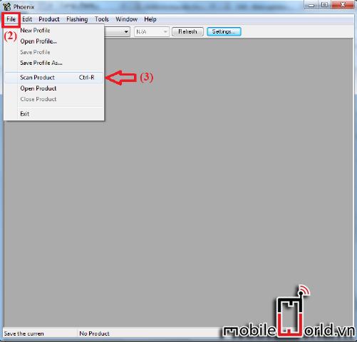 Hướng dẫn chạy lại phần mềm máy nokia bằng Phoenix 3