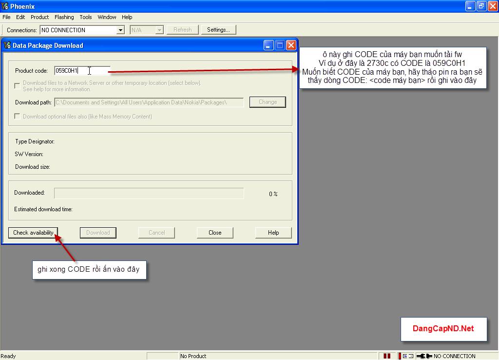 Hướng dẫn chạy lại phần mềm máy nokia bằng Phoenix 2