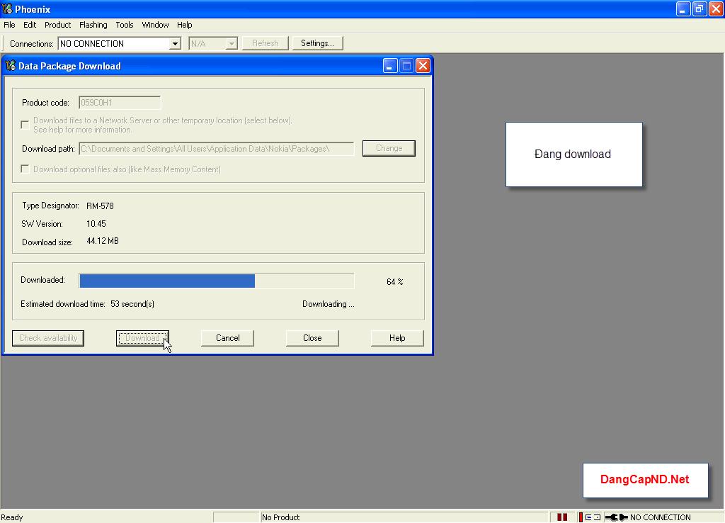 Hướng dẫn chạy lại phần mềm máy nokia bằng Phoenix 5